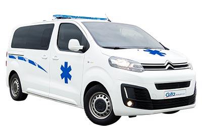 ambulances citroen et peugeot